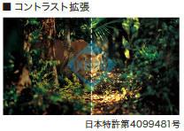 EIZO コントラスト拡張 FDF2305W