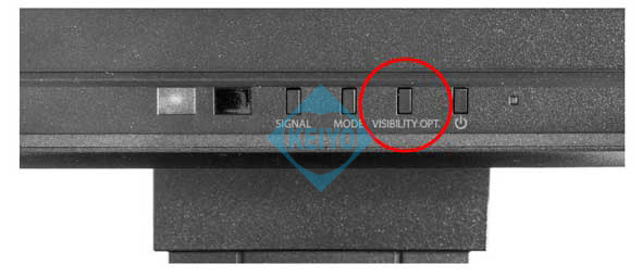 FDF2306W Visibility Optimizer キーアサイン EIZO