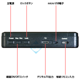 小型レコーダー フルHD
