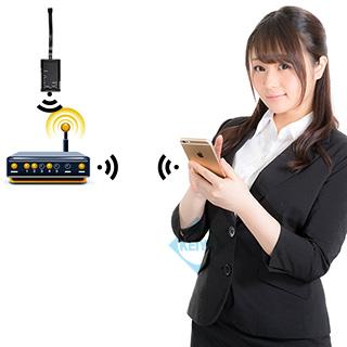 IP機能による遠隔監視