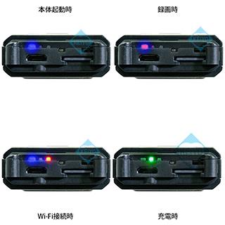 小型ビデオカメラにWi-FI機能を搭載させたサンメカトロニクス社製品