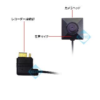 カメラ部 接続端子