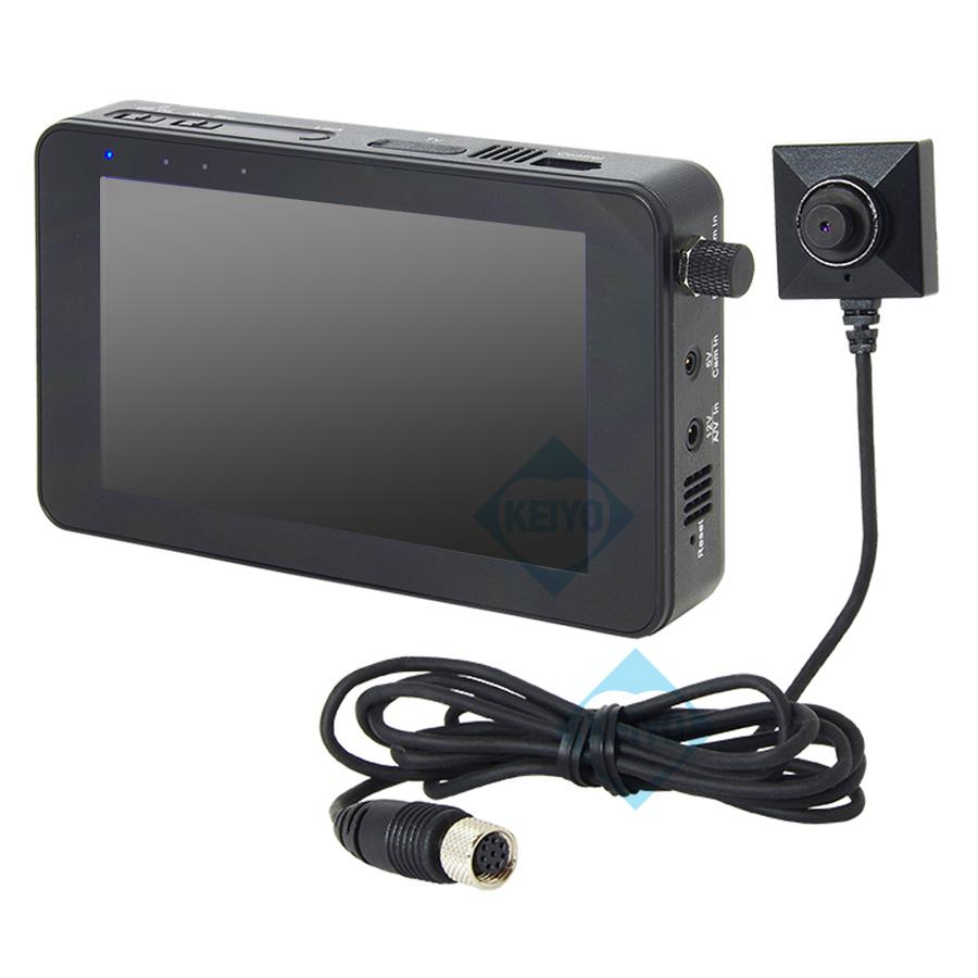 ハードディスク内蔵小型モバイルビデオレコーダー