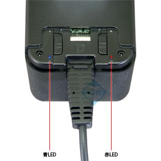 動作指示LED表示