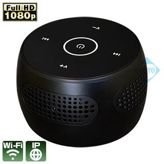 Bluetoothスピーカーに偽装されたネットワーク遠隔監視可能なWi-Fi小型防犯カメラ新発売