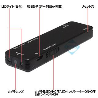 本体カメラ部 TEM-862