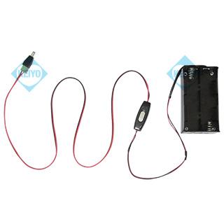 単一電池用スイッチ付き電池ボックス
