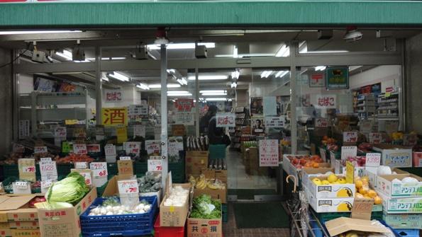 スーパーマーケット 防犯カメラ設置