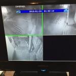 戸建住宅 赤外線防犯カメラ