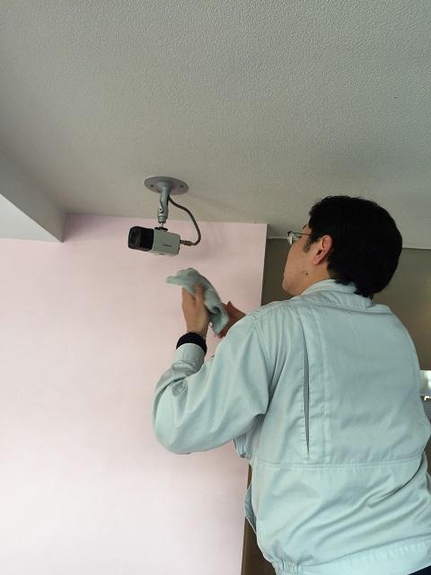 赤外線防犯カメラ 設置工事