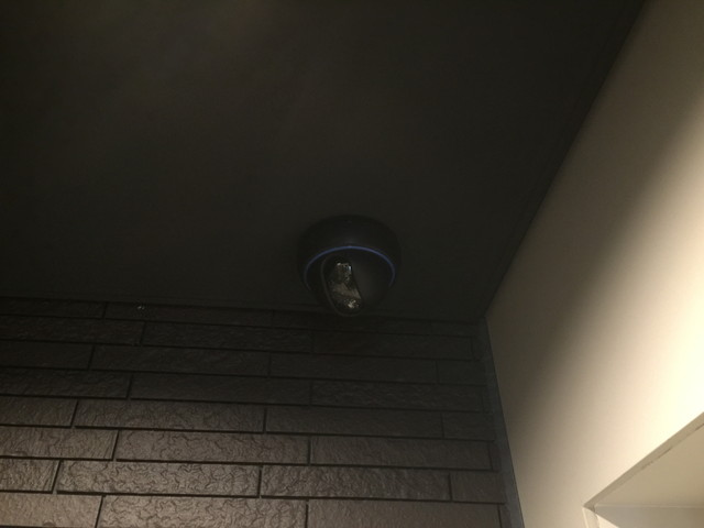 監視カメラ 機材交換