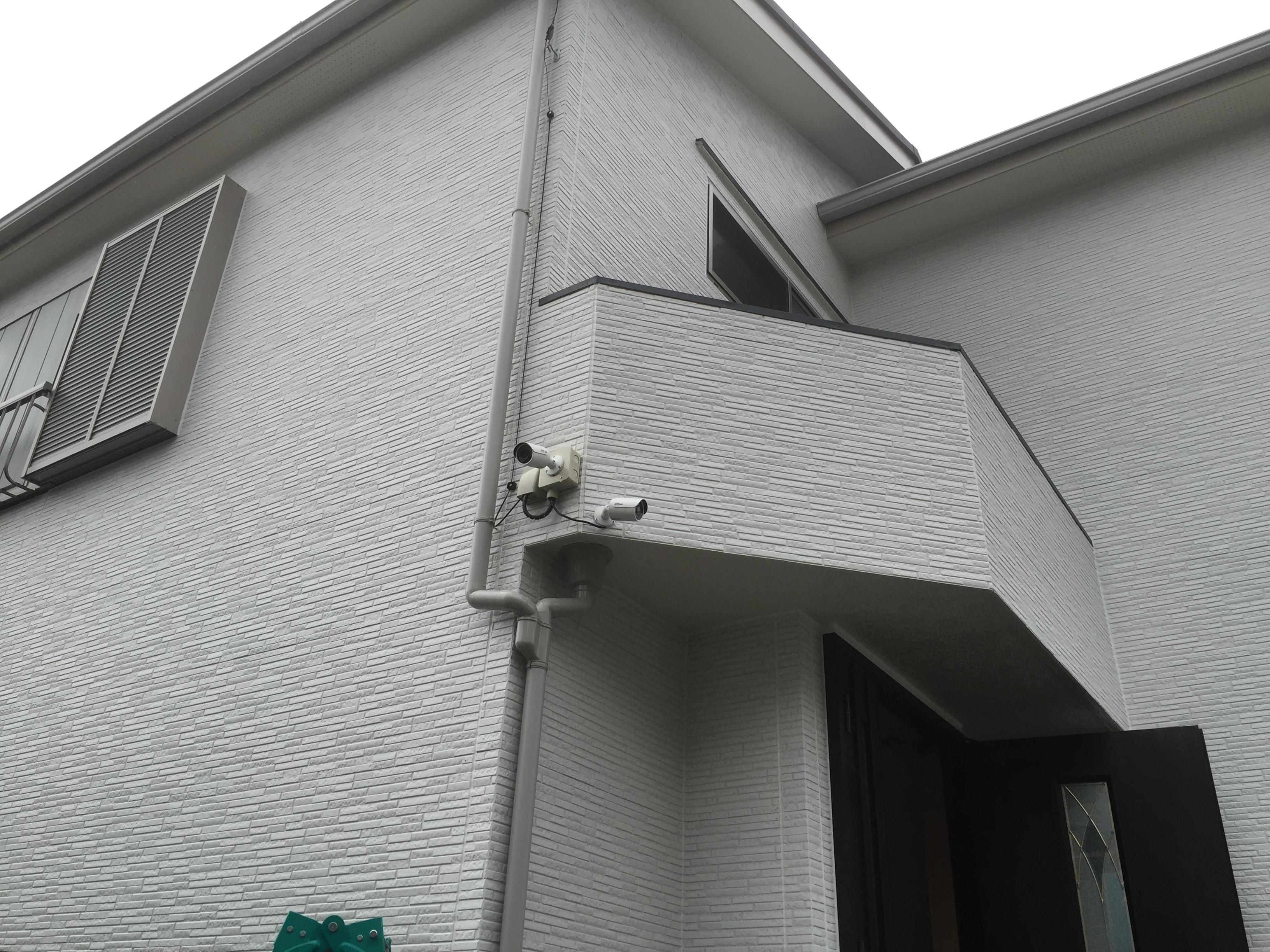 東京都 戸建住宅 防犯カメラ