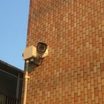 外壁 タイル カメラ工事